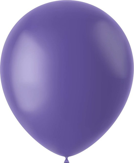 Lavendel Ballonnen Cornflower Blue 33cm 10st