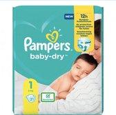 Pampers - Pampers Baby Dry maat 1 Newborn (2-5kg) - XL pakket - 21 stuks - Luiers - Babyluier - Luier - Nieuw model - Limited edition