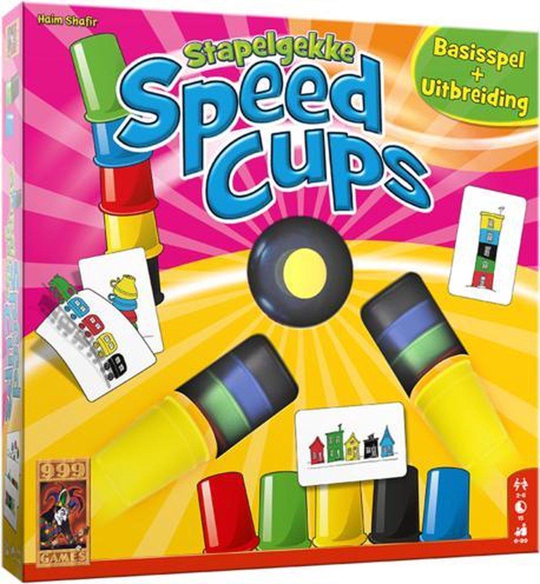 999 Games actiespel Stapelgekke Speed Cups 6 spelers