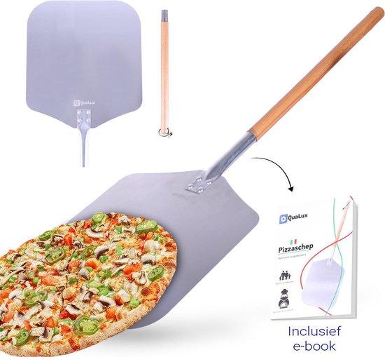 2-delige pizzaschep voor taart en pizza Gratis E-book