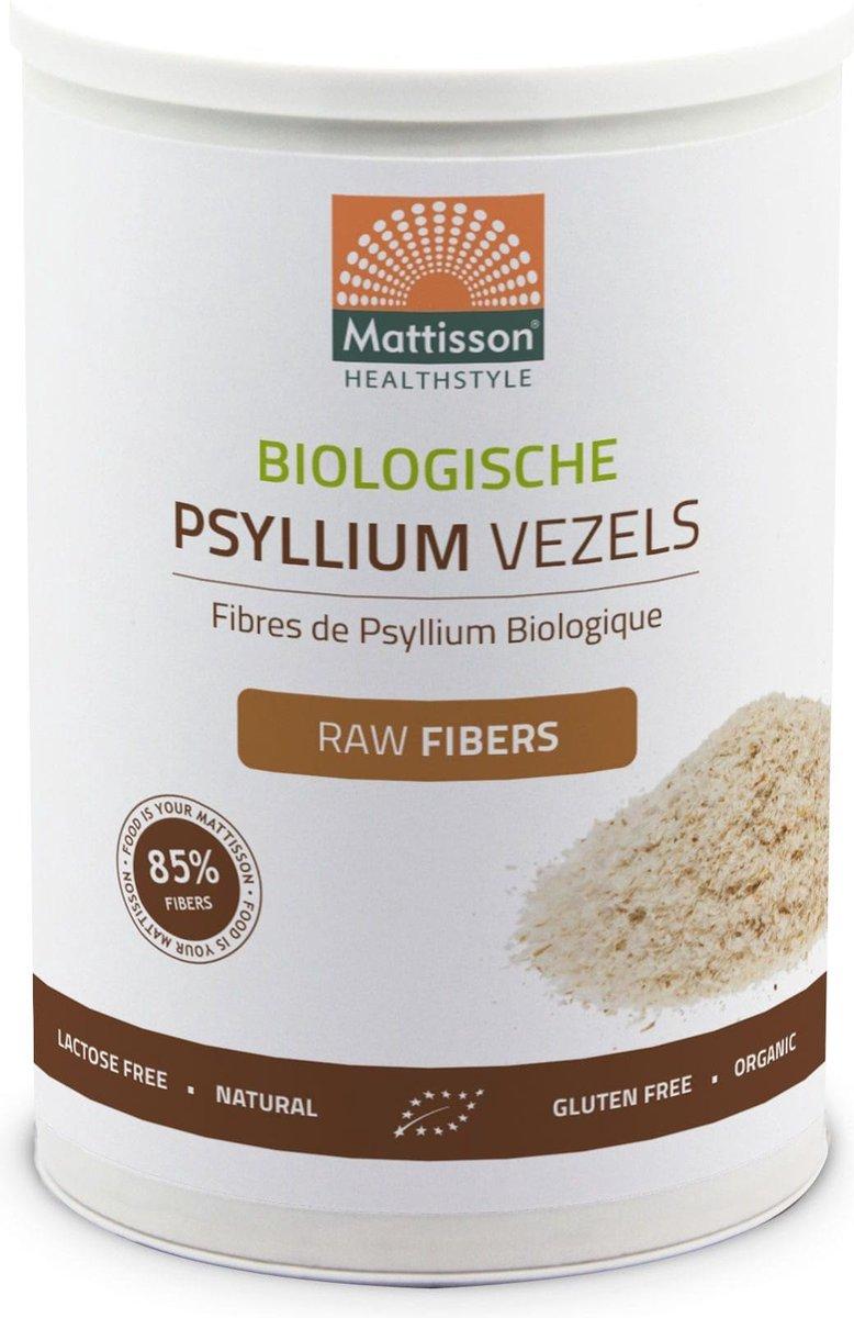 Mattisson Psyllium Biologisch Raw