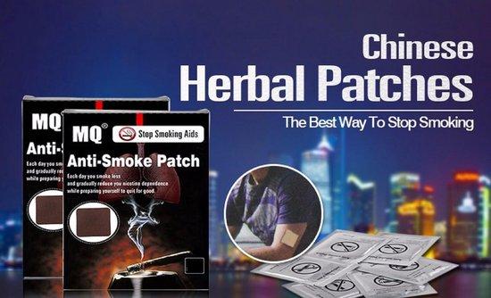 Anti-rook pleisters - op natuurlijke basis - transdermale pleister voor stoppen met roken - 20 stuks