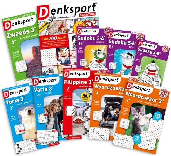 Afbeelding van Denksport Puzzelboeken pakket