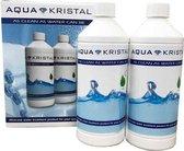 Aqua Kristal - Aqua Kristal navelverpakking - 2 x 1 liter - AquaKristal navulverpakking | 2 x 1 liter