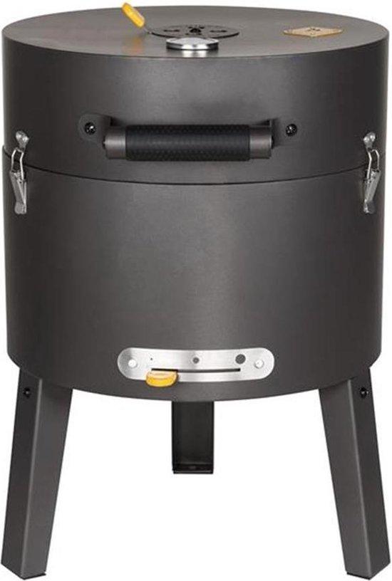 Boretti Tonello houtskoolbarbecue - ø 37 cm - Zwart