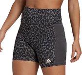 adidas Sportbroek - Maat M  - Vrouwen - grijs/zwart