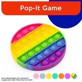 "Must-Have for Kids® | Pop It ""Rainbow"" Rond - Pop it regenboog - Pop All Up"