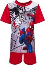 Spider-Man - Shortama - Rood - 8 jaar - 128cm