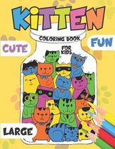 Kitten Coloring Book for Kids
