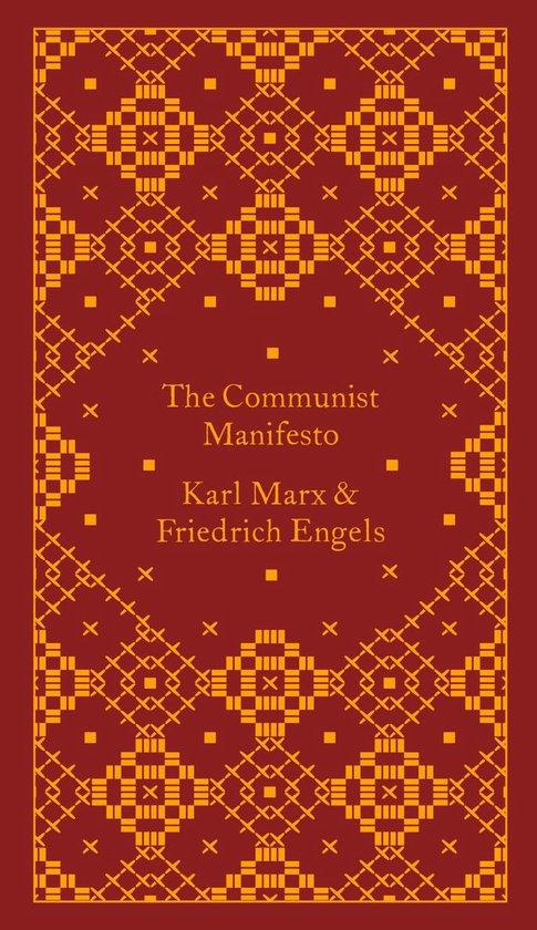 Boek cover The Communist Manifesto van Frederick Engels (Hardcover)