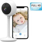 Babyfoon met Camera en App - Nachtzicht - Bewegingsdetector - Terugspreekfunctie - Baby Monitor