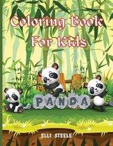 Panda Coloring Book For Kids