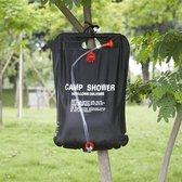 Decopatent® Solar Tuindouche buitendouche - Douchezak 20 L - Solar buitendouche met Douchekop - Waterzak - Tuin - Camping douche