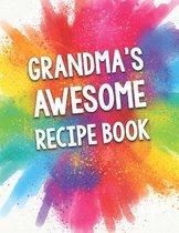 Grandma's Awesome Recipe Book