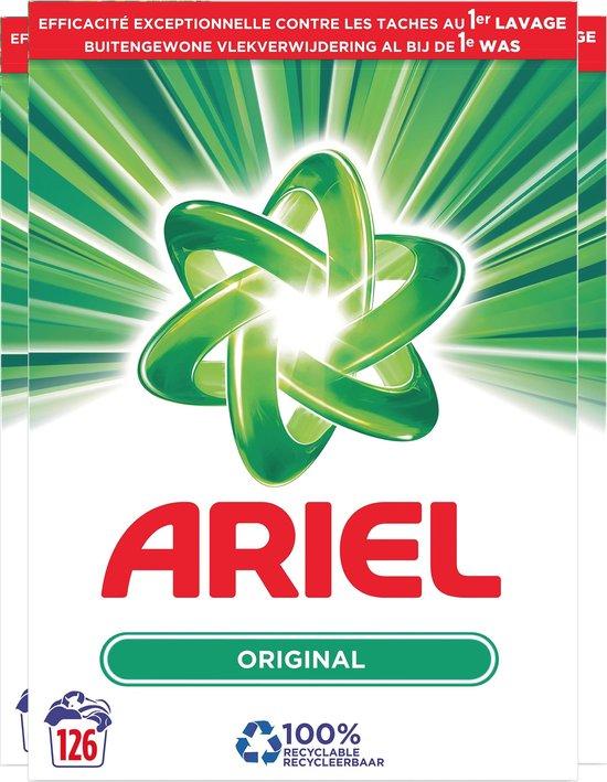 Ariel Regular Wasmiddel - Voordeelverpakking 3 x 42 Wasbeurten - Waspoeder