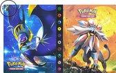 Afbeelding van Pokémon Verzamelmap - Voor 240 kaarten - Verzamelalbum -  A5 Formaat - Flexibele kaft - Portfolio