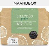 LILLYDOO green luiers - Maat 2 (4-8 kg) - 185 Stuks - Maandbox