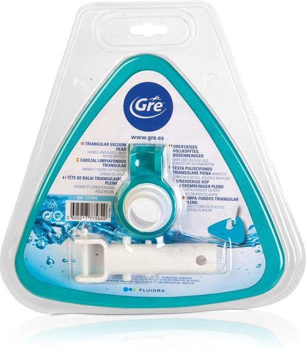 Zwembad stofzuiger - Bodemstofzuiger voor filterpomp - Zwembad - Voor aan de pomp - Driehoek