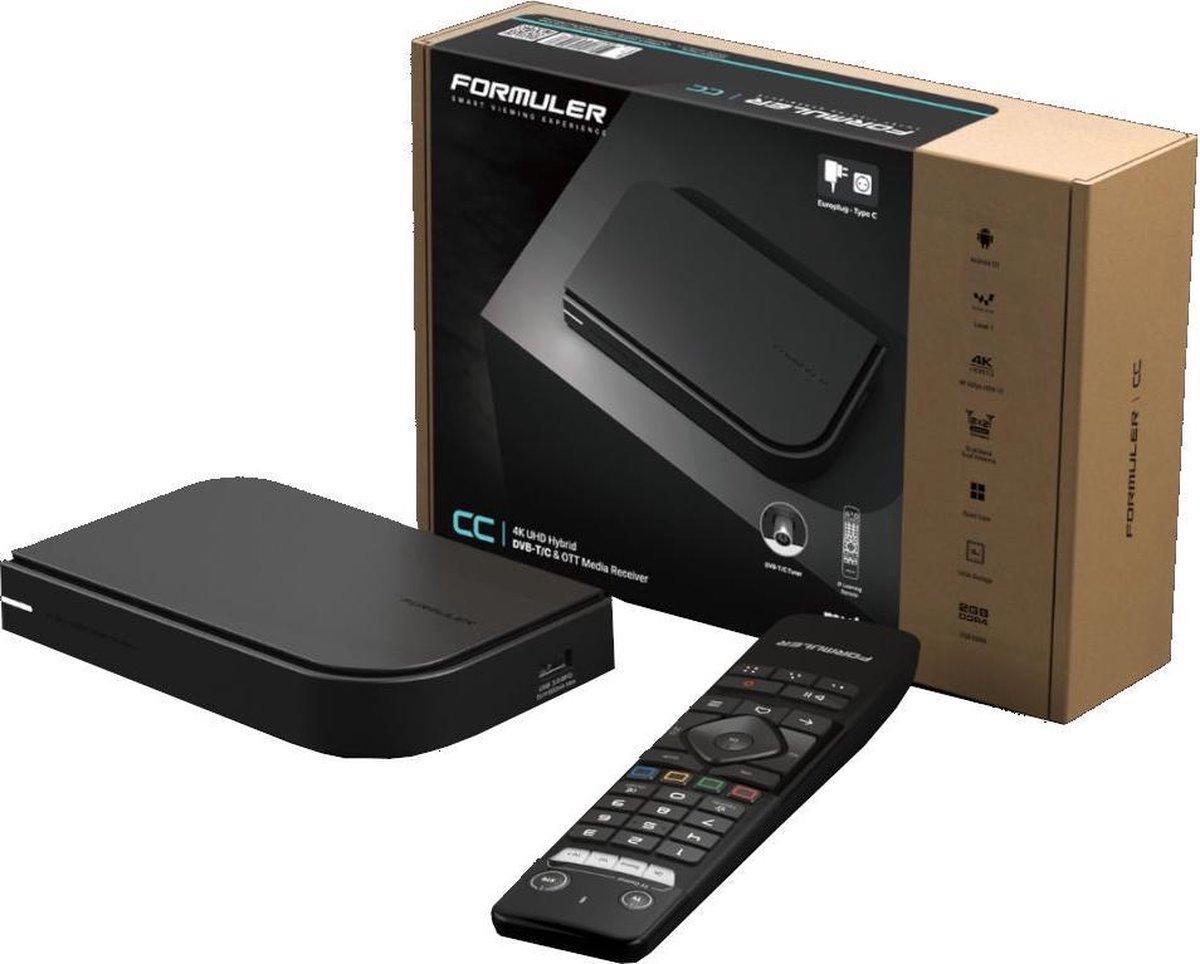 Formuler CC IPTV Box – IPTV Box met DVB-C aansluiting