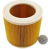 Patroonfilter voor Kärcher WD1, WD2, WD3 en A series Luchtafvoer Filter Cartridge Water stofzuiger - Geel