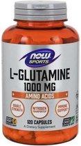 Now Foods Voedingssupplementen L-Glutamine, Dubbele Dosering, 1000 mg (120 Capsules) - Now Foods