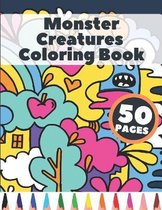 Monster Creatures Coloring Book