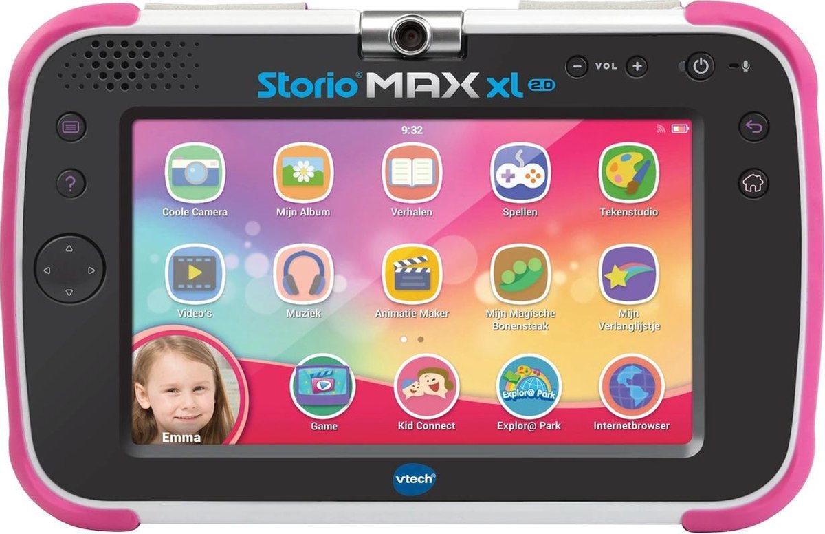 VTech Storio Max - Kindertablet - XL 2.0 Roze