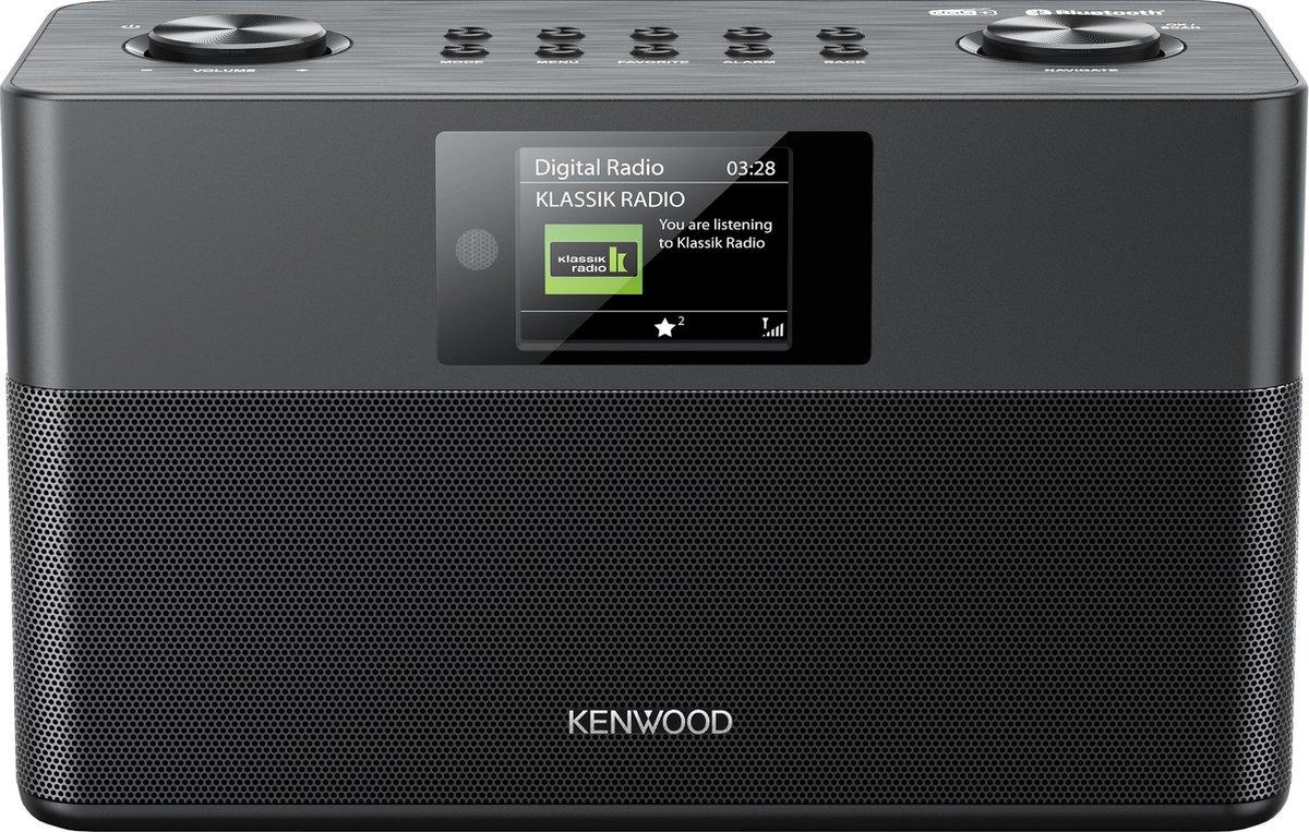 KENWOOD - CR-ST80DAB-B - DAB+ radio - Zwart