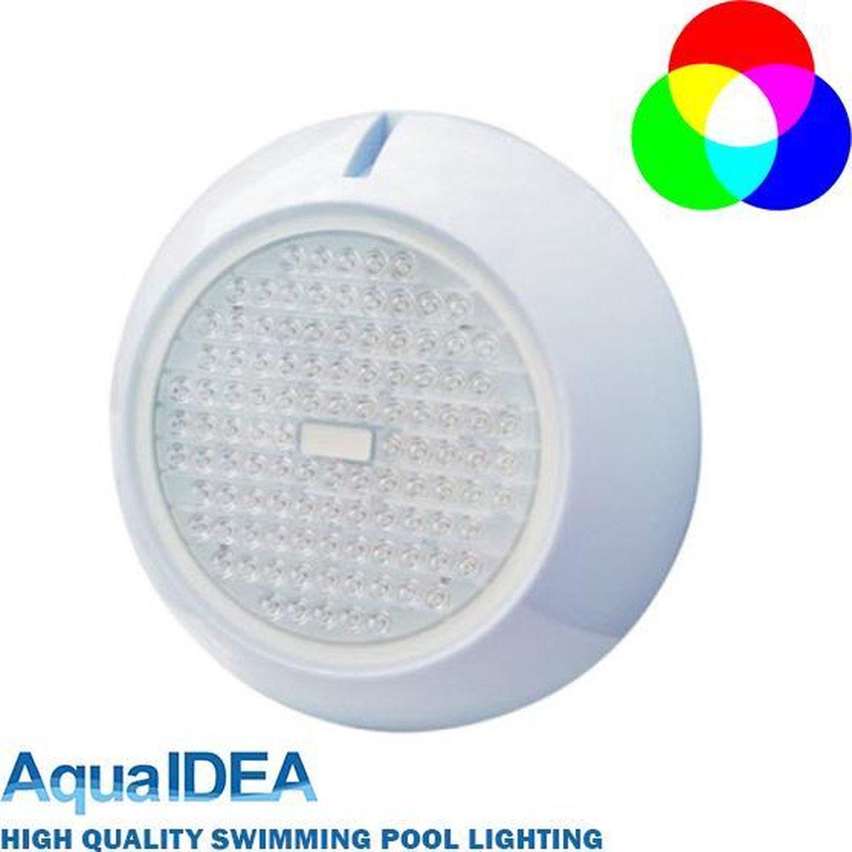 AquaIDEA - Swimming POOL LED Light - RGB MULTICOLOUR - Type P120 15 Watt 108 SMD LEDs - AC/DC12V- IP68