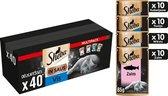 Sheba Delicatesse - Vis in Saus - Maaltijdzakjes voordeelpak - 40 x 85g