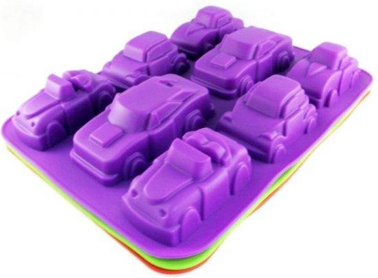 cakevorm Auto's siliconen vorm chocoladevorm mal voor chocolade fondant cake