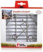 Light My Fire GrandPa's FireGrill - grilklem voor boven vuur