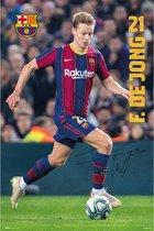 Frenkie de Jong poster voetbal FC Barcelona 61 x 91.5cm.
