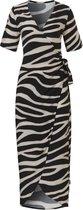 TC WOW wrap dress 20221 zebra-M