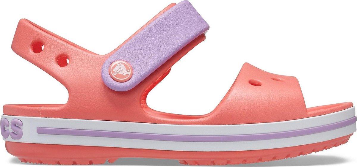 Crocs Sandalen - Maat 24/25 - Meisjes - oranje/roze/roze