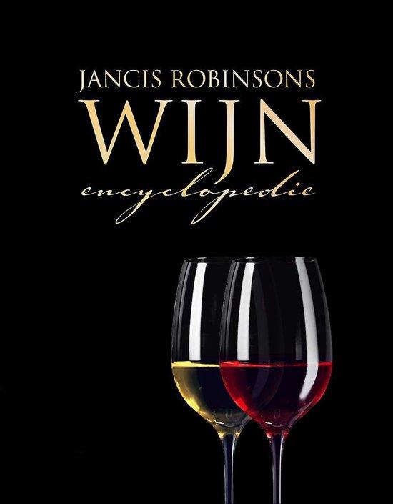 Boek cover Jancis Robinsons wijnencyclopedie van Jancis Robinson (Hardcover)