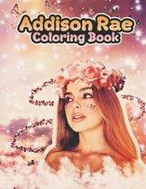 Addison Rae Coloring Book
