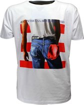 Bruce Springsteen Born In The Usa T-Shirt Wit