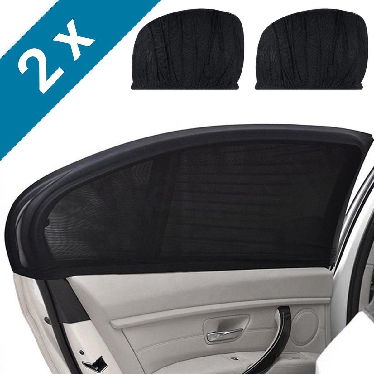 Luxe zonneschermen auto - SHADE PRO V1 - UV protectie bescherming - 2 stuks