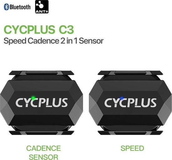 cadanssensor en snelheidssensor in 1. - cadans - snelheid - Garmin - Cycplus - Xplova - cadans sensor - cadansmeter - cadans meter - snelheid sensor - speedsensor- speed cadence sensor C3