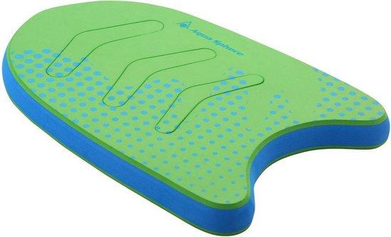 Aqua Sphere Kickboard - Zwemplank - Kinderen - Groen/Blauw - 3-6Y