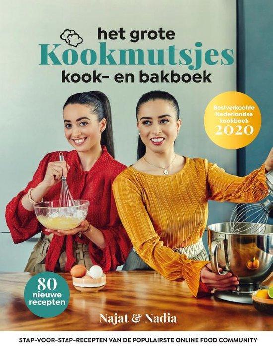 Boek cover Het grote Kookmutsjes kook- en bakboek van Najat Yachou (Hardcover)