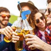Leoni Express Bier Snorkel - Rietat - Bier - Snorkel - Drankspel - Blauw
