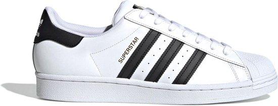 adidas Superstar Heren Sneakers - Ftwr White/Core Black/Ftwr White - Maat 46