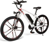 Samebike MY-SM26 Edition White - Elektrische - 48V 8AH - 30 Km/h Top Snelheid met bereik van 60 - 80K - Wit