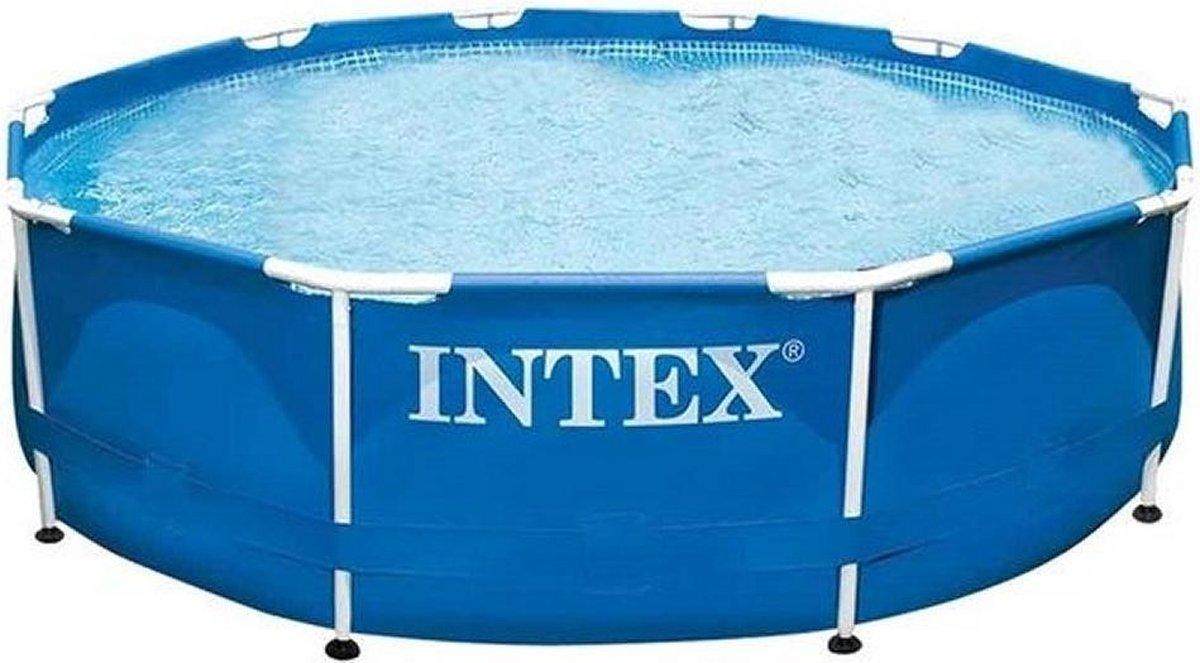 Intex 28200 - Metal Frame zwembad - 305cm diameter x 76cm hoog - Zonder filterpomp