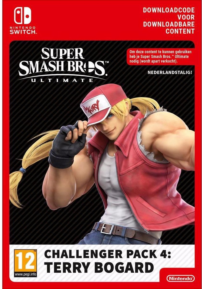 Super Smash Bros Ultimate: Challenger Pack Terry Bogard   Nintento Switch Download