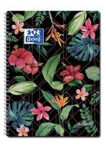 Oxford Botanical  - Notitieboek - A4 - lijn - 160 pagina's - 90g papier - scribzee