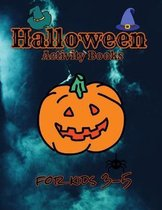 Halloween activity books for kids 3-5