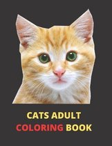 Cats Adult Coloring Book